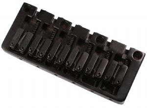 CONTEMPORARY 6 STRING BASS BRIDGE BLACK